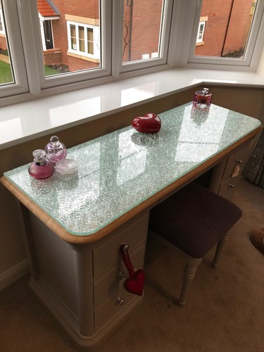 Iced Mirror furniture top